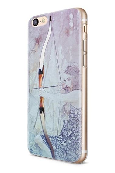 Lopard Apple İphone 6 6S Kılıf Okçu Kapak Renkli